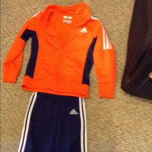 Adidas Toddler Size 4T Jogging Track Outfit